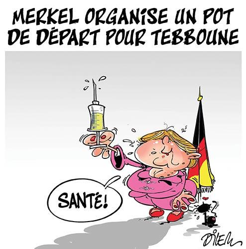 Merkel organise un pot de départ pour Tebboune - Allemagne - Gagdz.com