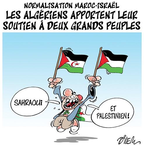 Normalisation Maroc-Israël, les algériens apportent leur soutien à deux grands peuples - Israel - Gagdz.com
