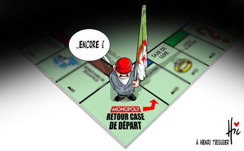 Retour à la case départ pour les algériens - Le Hic - El Watan - Gagdz.com